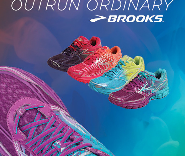 BROOKS OMBRE COLLECTION NOW IN STORE! Men's & Women's Styles Available for a LIMITED Time!